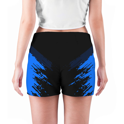 Женские шорты 3D  Фото 04, Russia-sport collection BLUE