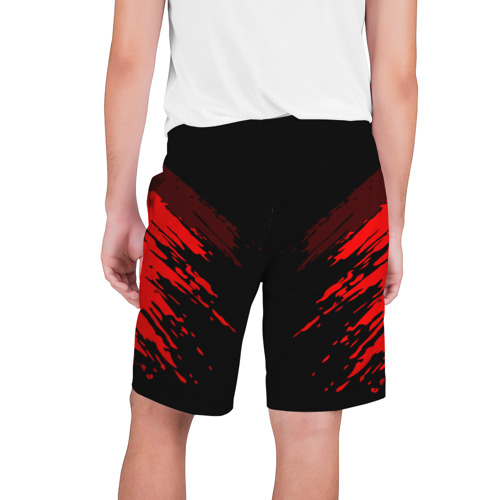 Мужские шорты 3D  Фото 02, Russia-sport collection RED
