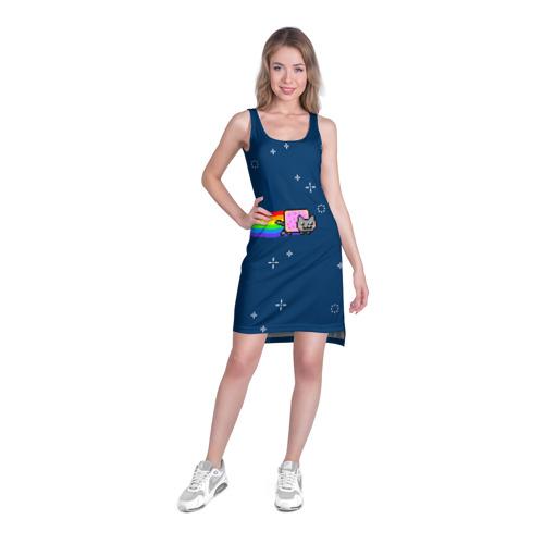 Платье-майка 3D  Фото 03, Нянкот