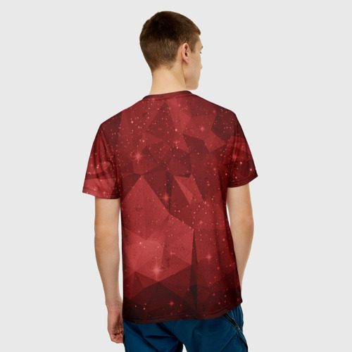 Мужская футболка 3D СССР Abstract Polygons Фото 01