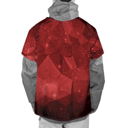 Накидка на куртку 3D  Фото 02, СССР Abstract Polygons