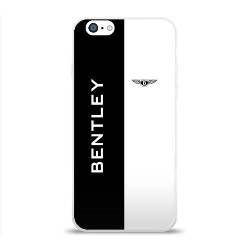 Чехол для Apple iPhone 6 силиконовый глянцевый  Фото 01, Bentley