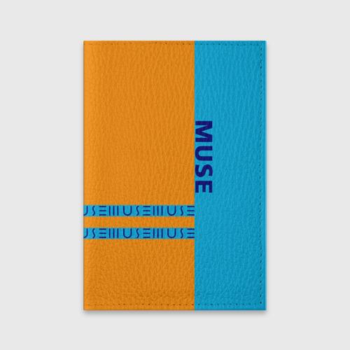 Обложка для паспорта матовая кожа Muse Фото 01