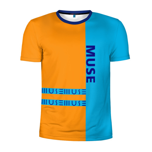 Мужская футболка 3D спортивная  Фото 01, Muse