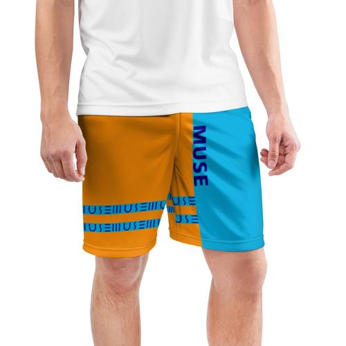 Мужские шорты 3D спортивные  Фото 03, Muse