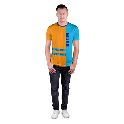 Мужская футболка 3D спортивная  Фото 04, Muse