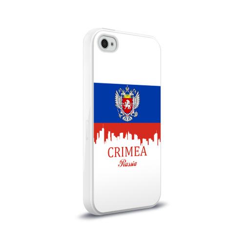 Чехол для Apple iPhone 4/4S силиконовый глянцевый  Фото 02, Crimea (Крым)