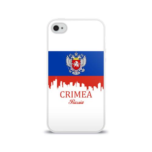 Чехол для Apple iPhone 4/4S силиконовый глянцевый  Фото 01, Crimea (Крым)