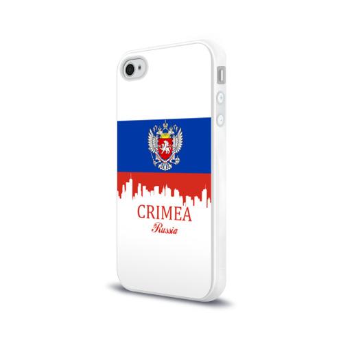 Чехол для Apple iPhone 4/4S силиконовый глянцевый  Фото 03, Crimea (Крым)