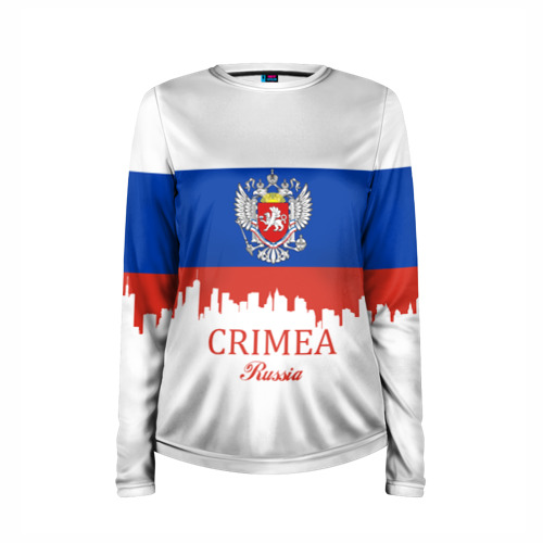 Женский лонгслив 3D для беременных  Фото 03, Crimea (Крым)