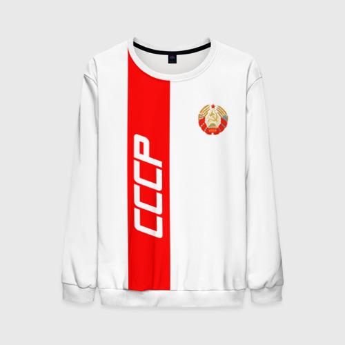 Мужской свитшот 3D СССР-white collection  Фото 01