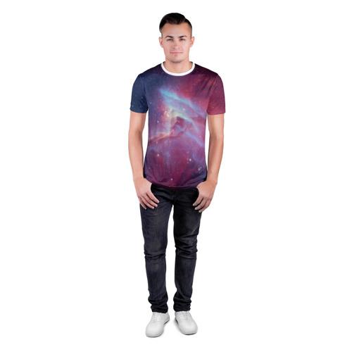 Мужская футболка 3D спортивная  Фото 04, Космос