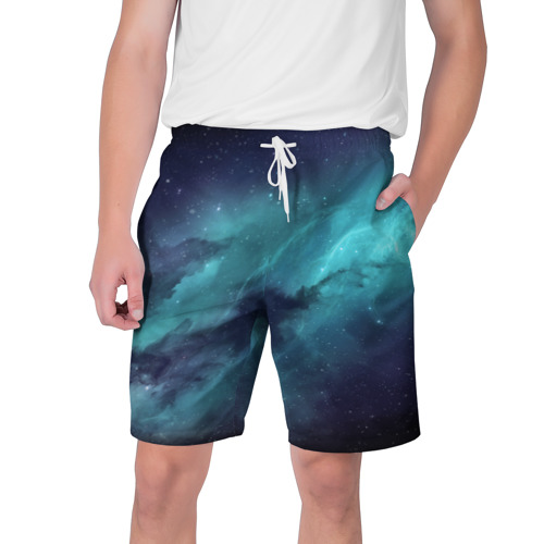 Мужские шорты 3D  Фото 01, Космическая текстура