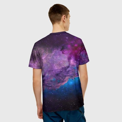 Мужская футболка 3D  Фото 02, КОСМОС