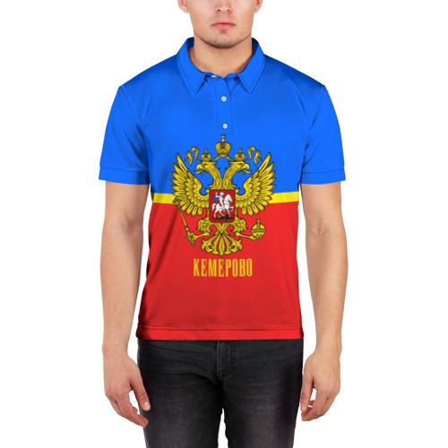 Мужская рубашка поло 3D  Фото 03, Кемерово