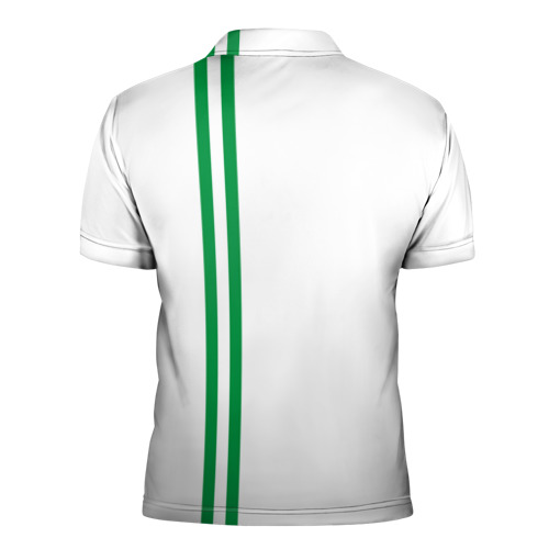 Мужская рубашка поло 3D  Фото 02, Ингушетия, лента с гербом