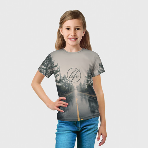 Детская футболка 3D  Фото 03, Life