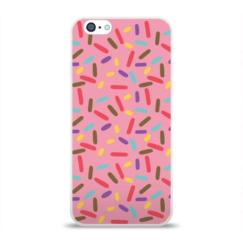 Чехол для Apple iPhone 6 силиконовый глянцевый  Фото 01, Спринклс