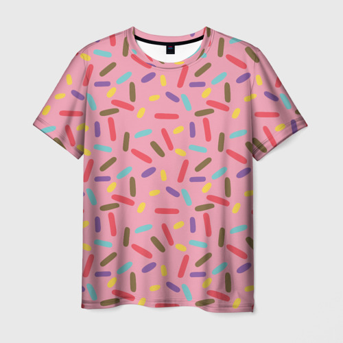 Мужская футболка 3D Спринклс