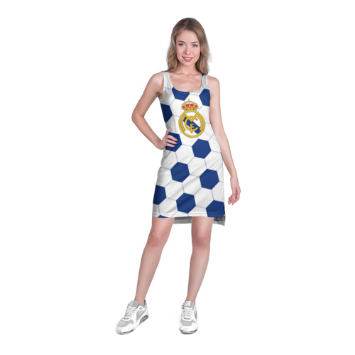 Платье-майка 3D  Фото 03, Real Madrid