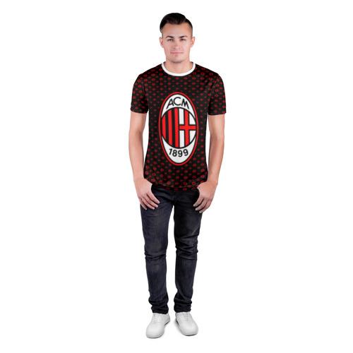 Мужская футболка 3D спортивная  Фото 04, MILAN SPORT