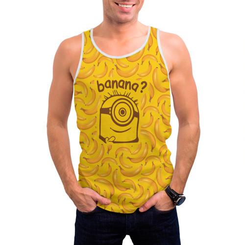 Мужская майка 3D Banana? Фото 01