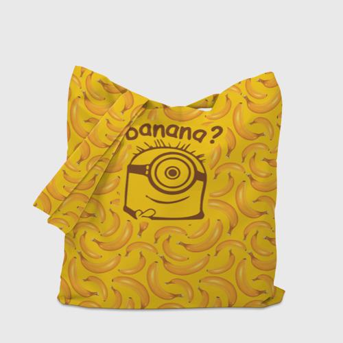Сумка 3D повседневная Banana? Фото 01