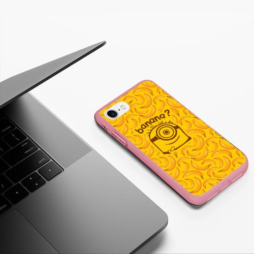 Чехол для iPhone 7/8 матовый Banana? Фото 01