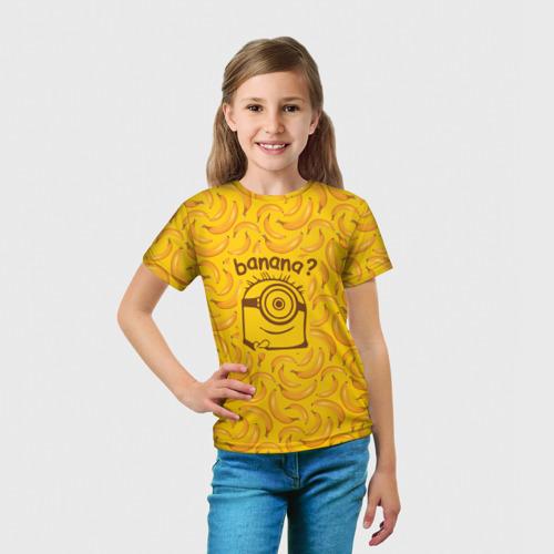 Детская футболка 3D Banana? Фото 01
