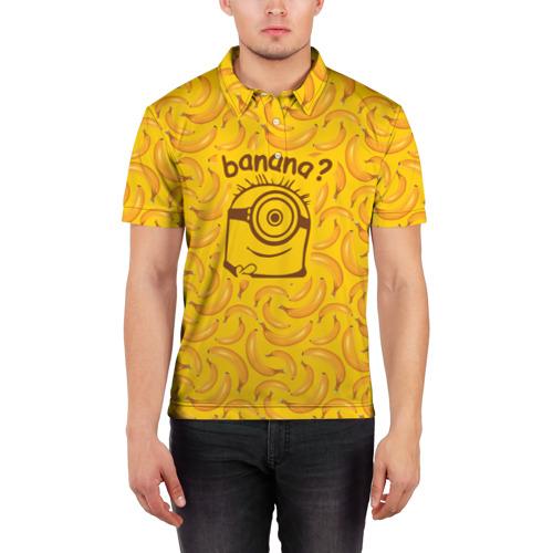 Мужская рубашка поло 3D  Фото 03, Banana?