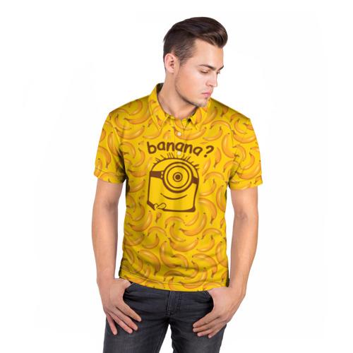 Мужская рубашка поло 3D  Фото 05, Banana?