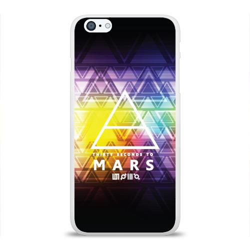 Чехол для Apple iPhone 6Plus/6SPlus силиконовый глянцевый 30 Seconds to Mars music Фото 01
