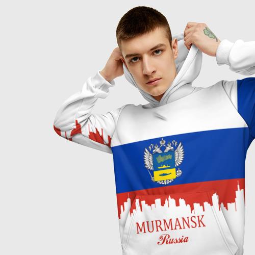 Мужская толстовка 3D MURMANSK (Мурманск)