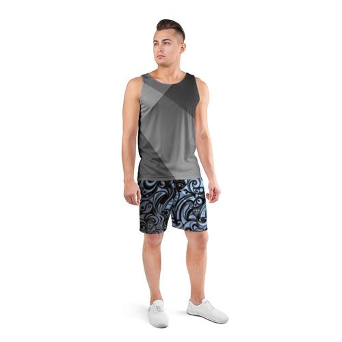 Мужские шорты 3D спортивные  Фото 04, SPONTANOCHKA