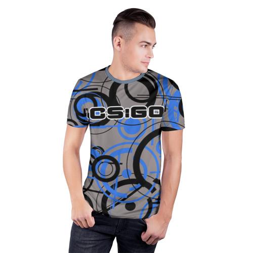 Мужская футболка 3D спортивная  Фото 03, CS:GO
