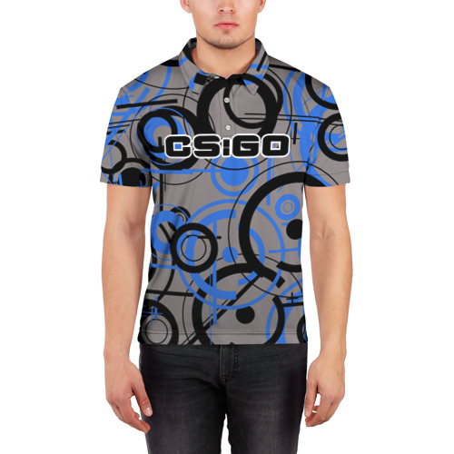 Мужская рубашка поло 3D  Фото 03, CS:GO