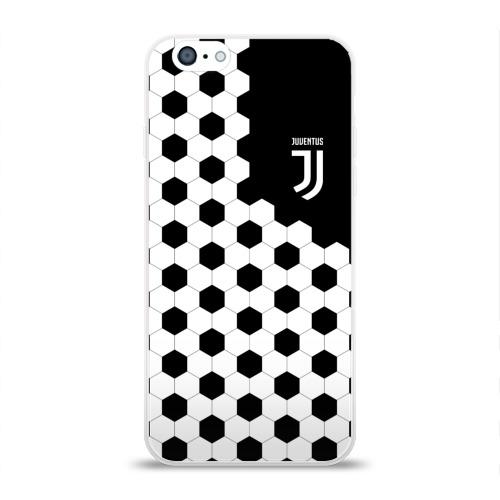 Чехол для Apple iPhone 6 силиконовый глянцевый  Фото 01, Juventus