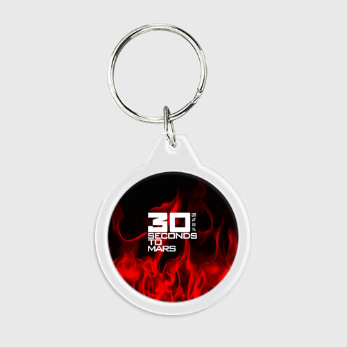 30 Seconds to Mars in fire