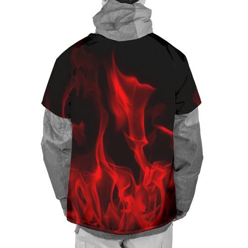 Накидка на куртку 3D  Фото 02, 30 Seconds to Mars in fire