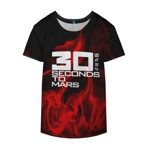 Накидка на куртку 3D  Фото 04, 30 Seconds to Mars in fire