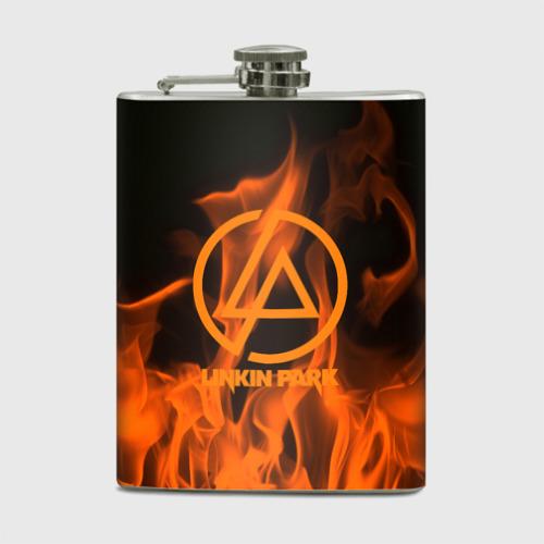 Фляга  Фото 01, Linkin park in fire