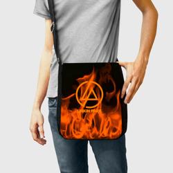 Linkin park in fire