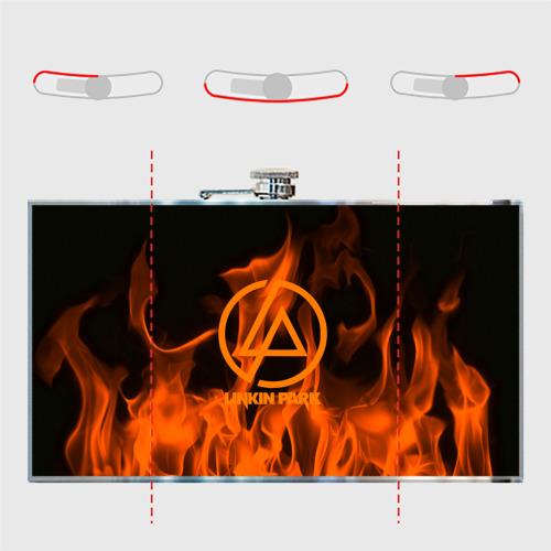 Фляга  Фото 05, Linkin park in fire