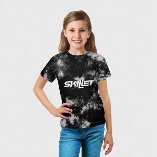 Детская футболка 3D  Фото 03, Skillet