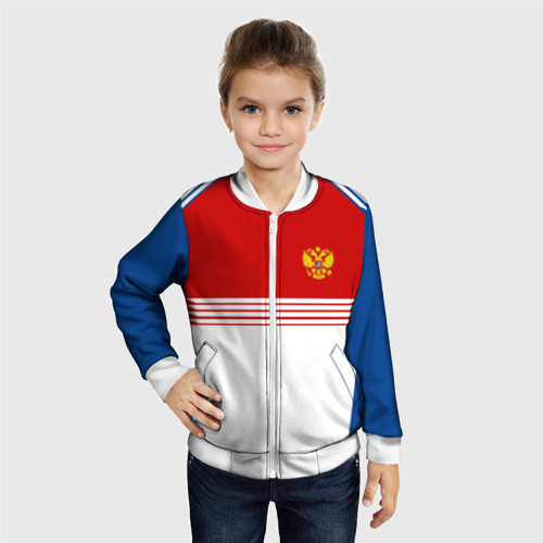 Детский бомбер 3D  Фото 06, RUSSIA SPORT