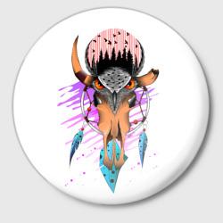 сова ловецснов череп
