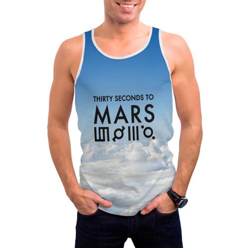 Мужская майка 3D  Фото 03, Thirty Seconds to Mars