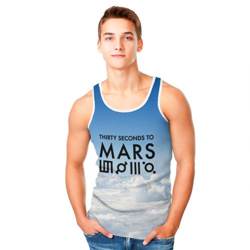 Мужская майка 3D  Фото 05, Thirty Seconds to Mars