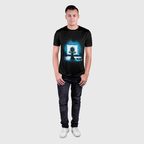 Мужская футболка 3D спортивная  Фото 04, Maggie from horror movie