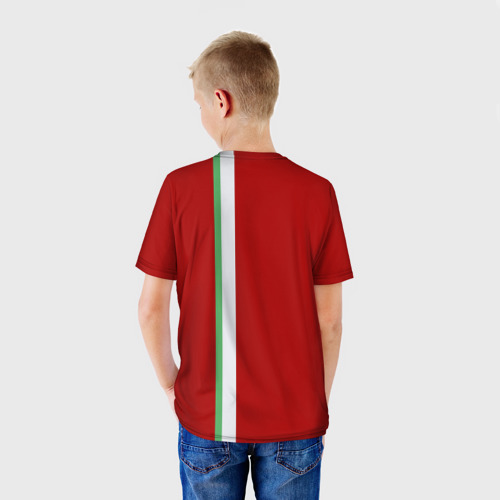 Детская футболка 3D  Фото 02, Казань, лента с гербом